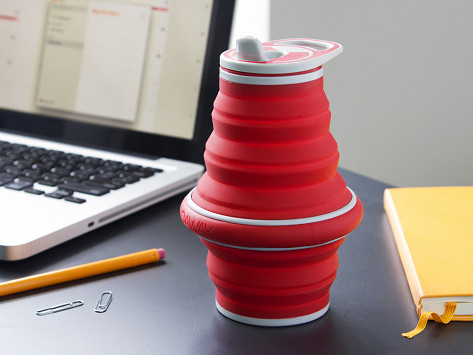 Collapsible Water Bottle By Hydaway The Grommet