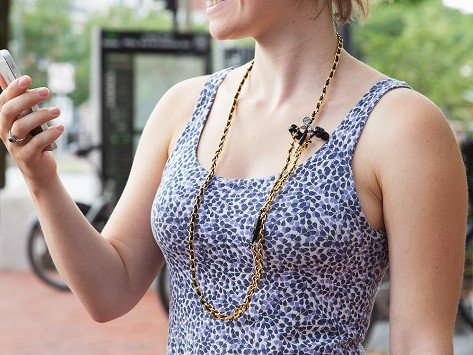 Loopit Tangle Free Earbud Necklace The Grommet