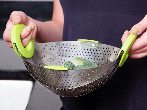 Collapsible Strainer Amp Steamer By Rmdlo The Grommet