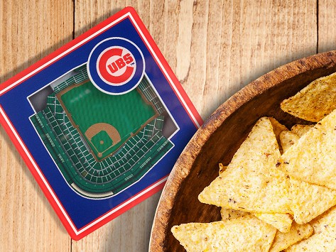 970dc325 3D Stadium Coaster Set