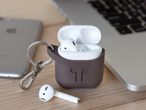 new product 0bbb2 327d2 AirPods Protective Silicone Case