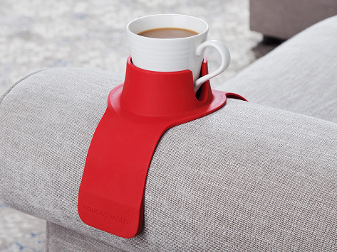Weighted Drink Holder By Couchcoaster The Grommet