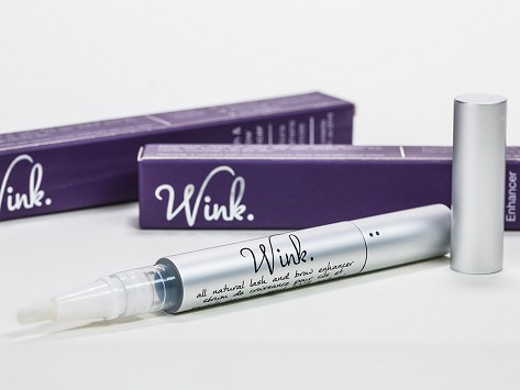 a5e8a6453a4 All-Natural Eyelash Formula by Wink | The Grommet