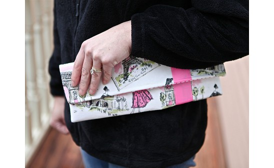 Handcrafted Fabric Clutch