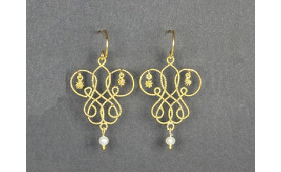 Artisan Crafted Filigree Earrings