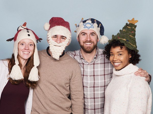 Holiday Funny Winter Hats by Peruvian Trading Company  54c764493a3