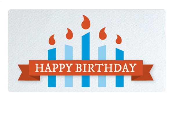 Happy Birthday By Email Gift Card The Grommet