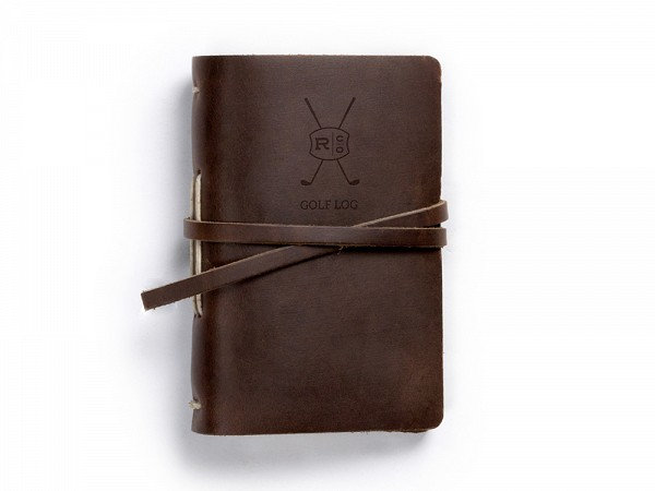 Golf Log Book from Rustico (Dark Brown)