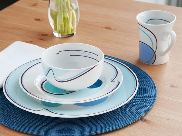 Halsa Portion Control Dinnerware | The Grommet
