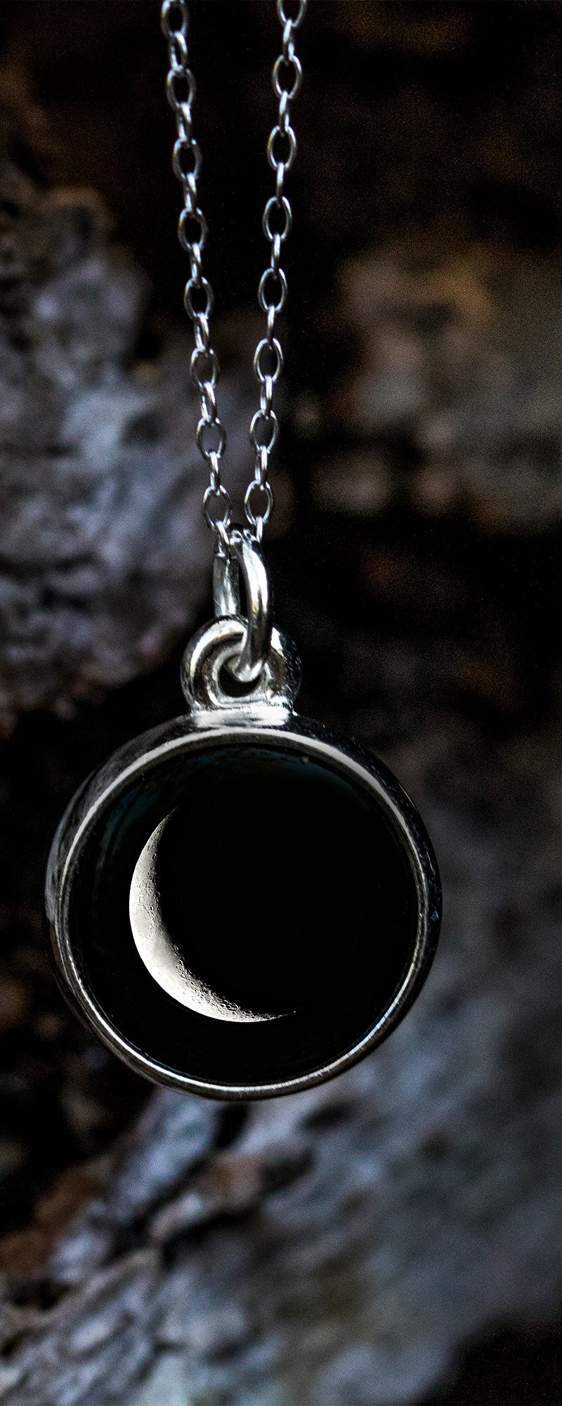 Choose Your Moon Phase Necklace Classic Design By