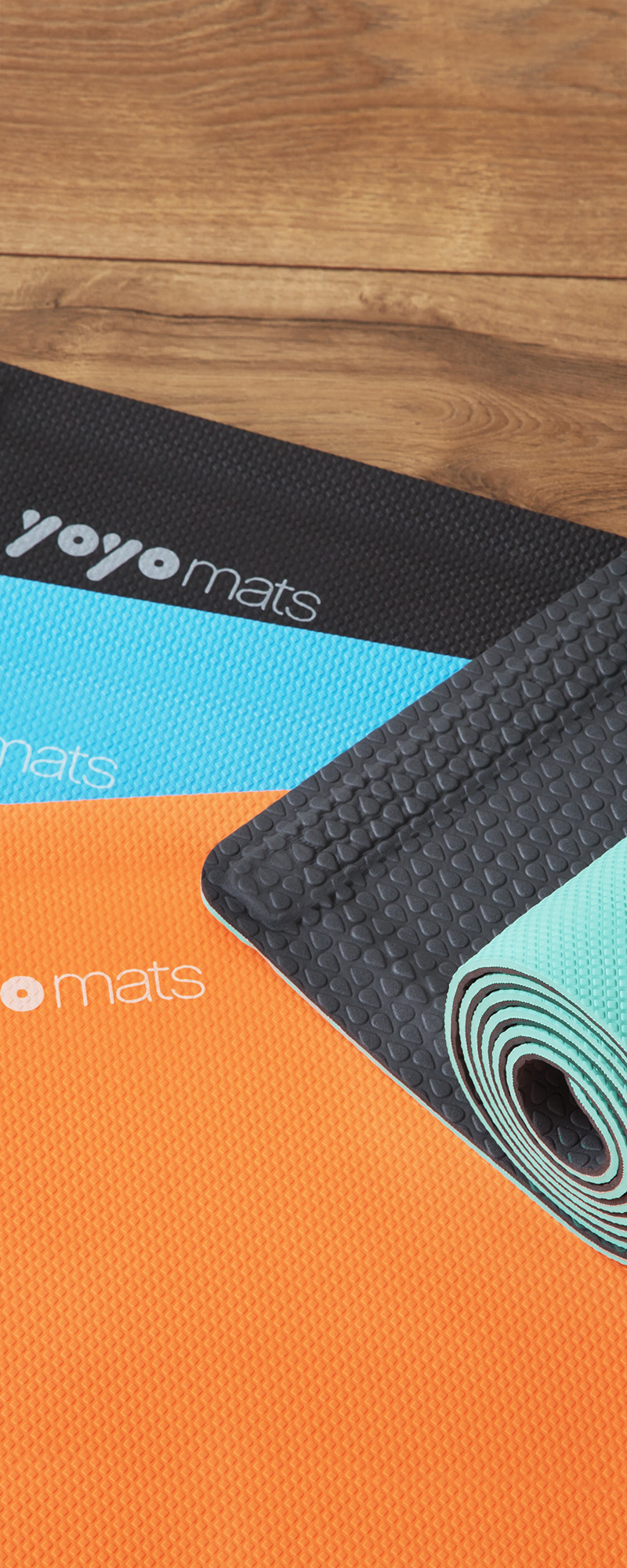 Self Rolling Fitness Amp Yoga Mat By Yoyo Mats The Grommet