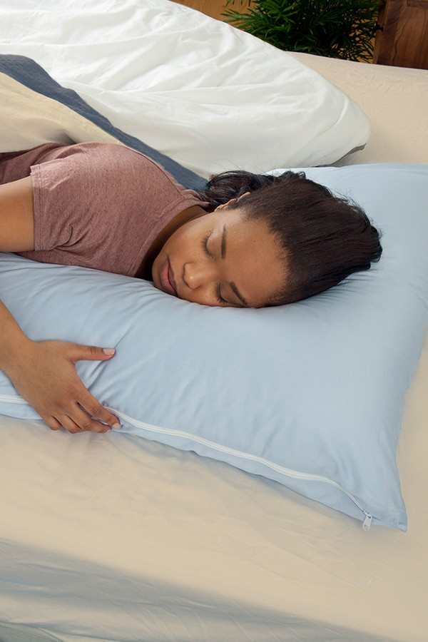 L Shaped Body Pillow Amp Cover By The Snuggl Company The