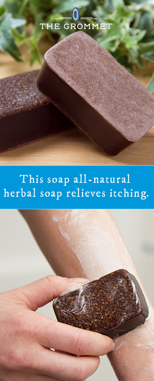 Marie's Original Formulas: All-Natural Herbal Itch Relief Soap