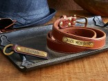 Clayton & Crume - Personalized Men's Leather Accessories