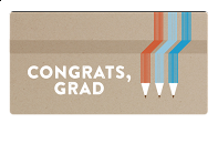 Email Gift Card: Congrats, Grad