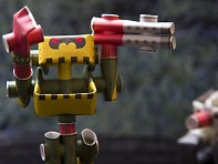 Piperoid: Paper Robots