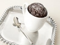 My Cup of Cake: Souffle Cake in a Mug