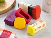 Food Huggers®: Butter & Cheese Savers - Set of 5