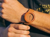 Analog Watch Co.: Makore & Red Sanders Watch