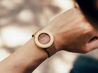 Analog Watch Co.: Teak & Bamboo Carpenter Watch