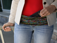 Large Pocket Adjustable Belt