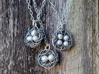 Messy Nest Necklace