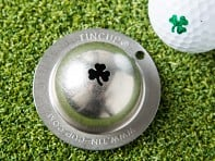 Tin Cup: Stainless Steel Golf Ball Marker