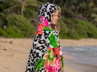 Simple Sarongs: Kids Hooded Towel & Beach Wrap