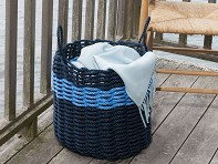 Nautical Rope Storage Bin
