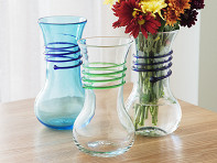 Blenko Glass Company: Wine Carafe Vase