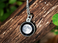 Moonglow: Choose Your Moon Phase Necklace - Simple Design