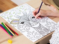Zorbitz: Coloring Poster Set