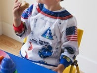 Mixed Pears: Astronaut Suitables Role Play Bib