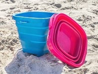 Packable Pails: Collapsible Bucket