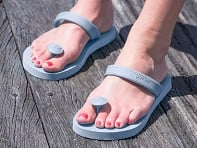 Gurus: Women's Natural Rubber Sandals