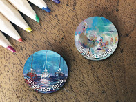the StoryCoin: Story Coin Magnetic Inspirational Charm: Set of 2