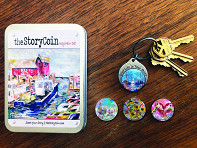 the StoryCoin: Story Coin Inspirational Keychain Set