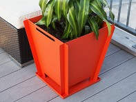 "Groovebox Living: 18"" Modular Planter"