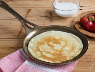 "AUS-ION Steel 9"" Crepe Pan"