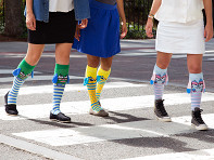 MooshWalks: Knee High Character Socks Trio
