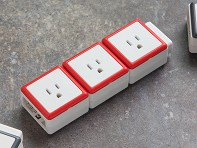 STACK: Modular 3 Outlet Extension