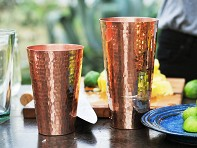 Copper Marakan Shaker Set