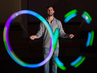 Spinballs: LED Poi Balls
