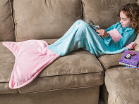 Children's Mermaid Tail Blanket