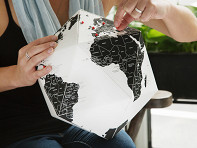 Palomar: Three Dimensional Country Globe