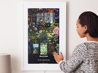 Meural: Gesture Controlled Digital Art Frame