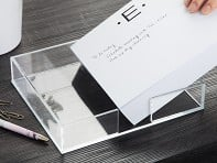 Acrylic Tray for Notepad Stationery