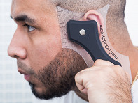The Cut Buddy: Hair and Beard Grooming Guide Tool