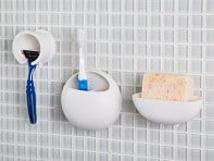 SAN-EI: Suction Bathroom Accessories