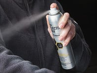 Temporary Reflective Fabric Spray